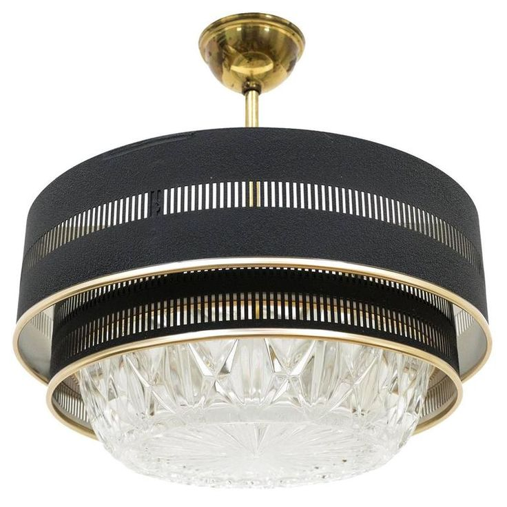 French Flush Mount Or Petite Chandelier Circa 1960