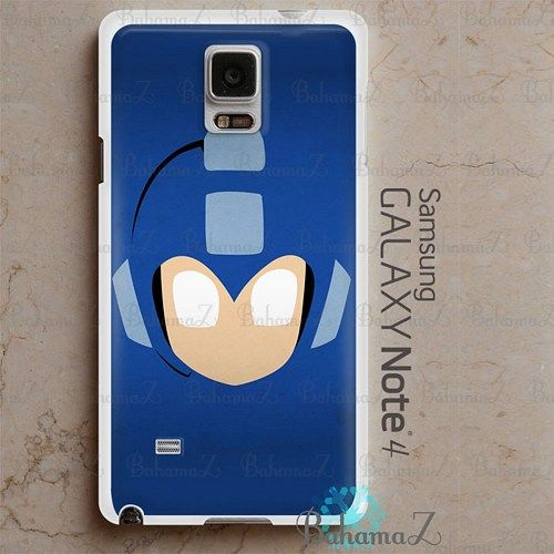 Mega Man Helmet Logo Samsung Galaxy Note 4 Case