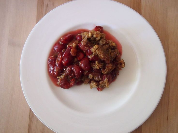 Favorite Recipes of 2013:  Sour Cherry Crisp