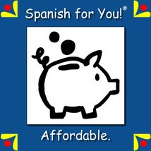 Spanish for You-Get your FREE Mini Lessons now and while you are visiting our website, check out our affordable curriculum for HOME USE or CLASS USE. http://www.spanish-for-you.net/
