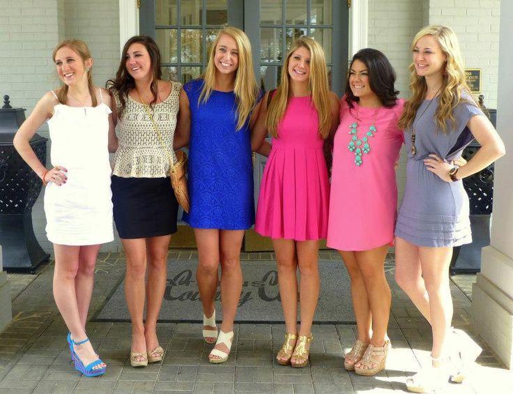 Where to buy sorority recruitment dresses