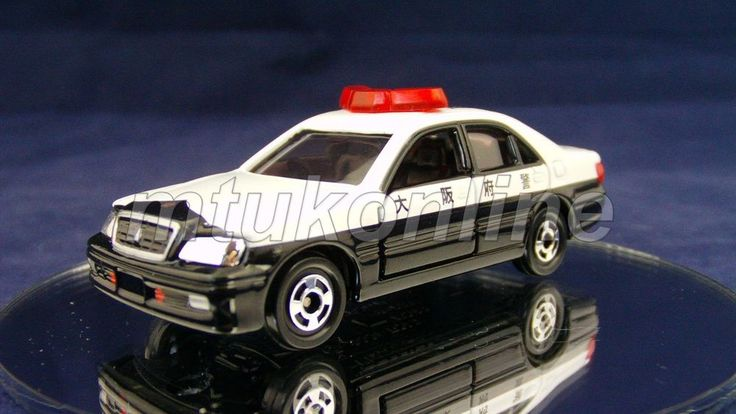 TOMICA 92 TOYOTA CROWN ZS150 POLICE   1/62   EMERGENCY SET 2006   SINGLE SPLIT