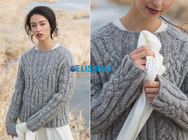 Мохеровые свитера спицами со схемами фото 348