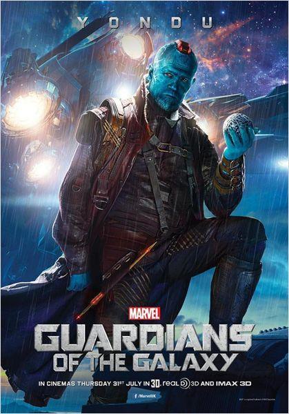 Les Gardiens de la Galaxie : Affiche Michael Rooker