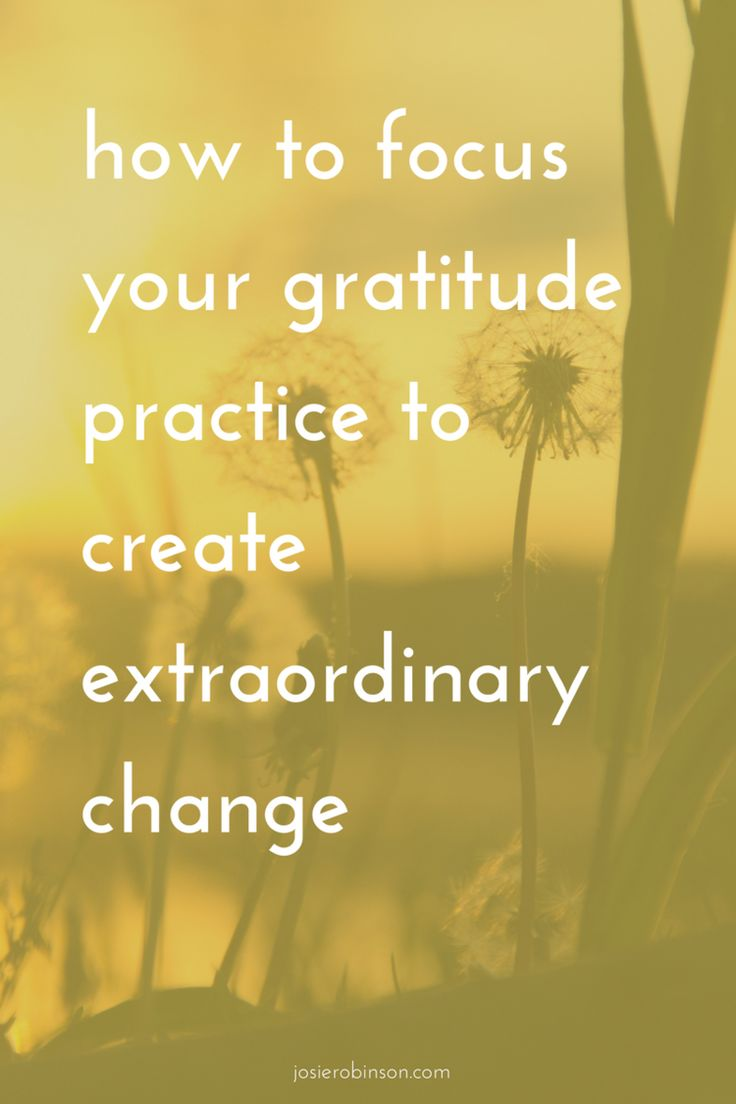 """Discover how to used """"focused gratitude"""" to transform any area of your life...   gratitude journal ideas   positive thinking motivation   law of attraction  """