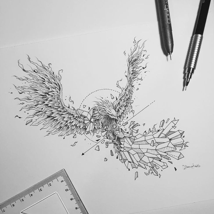 Finally back in Manila and starting the week on fire! Exact opposite of last week's cold in London. Geometric Beast | Phoenix by kerbyrosanes