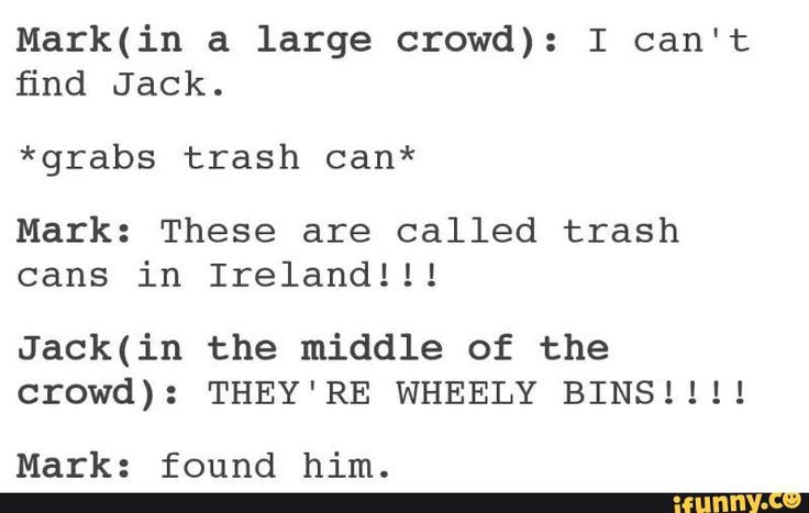 I literally read this out loud with their tone and accents and then laughed at both this and what I just did