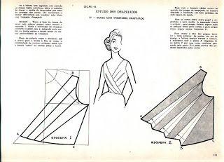 Agulha de ouro Ateliê: como fazer blusa drapeada