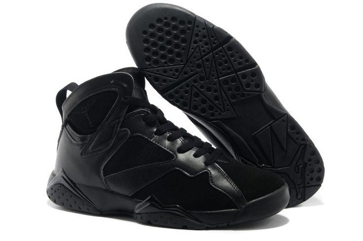 air jordan 7 all black