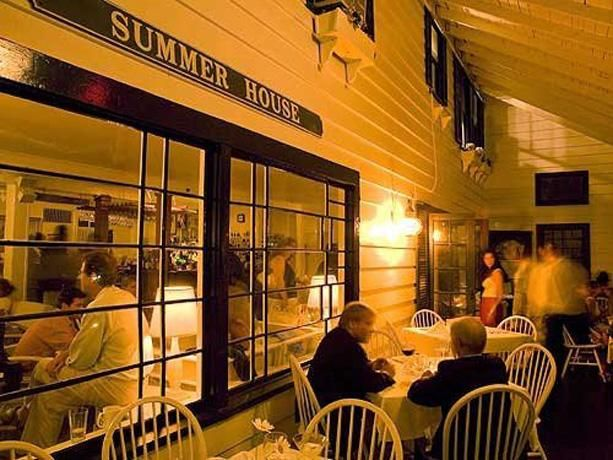 Summer House in 'Sconset is Marin and Beth's favorite place for outdoor dining on island!