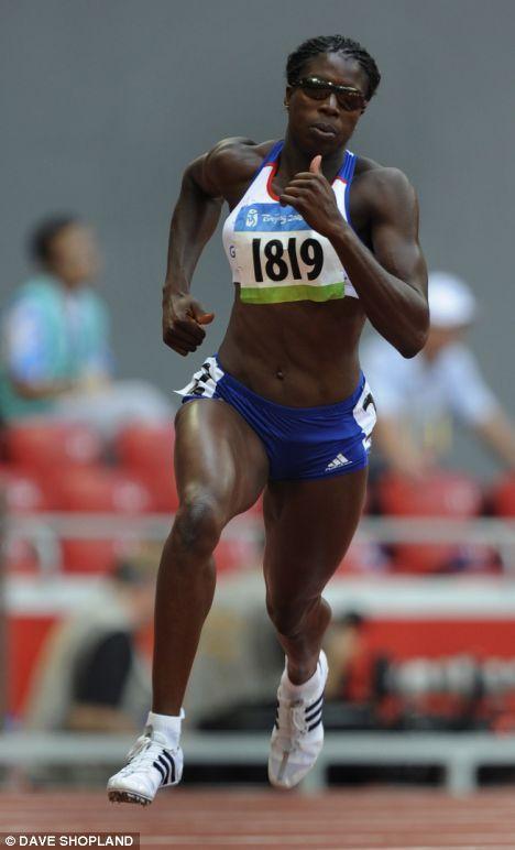 Christine Ohuruogu | Cool Ohuruogu cranks up the pressure to reel in Russian rival | Daily ...OS guld 400 meter 2008 Beijing.