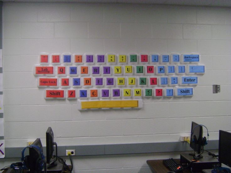 wall keyboard Added by sjsimmons on August 14, 2009 at 12:45pm View Photos- can get keys to print