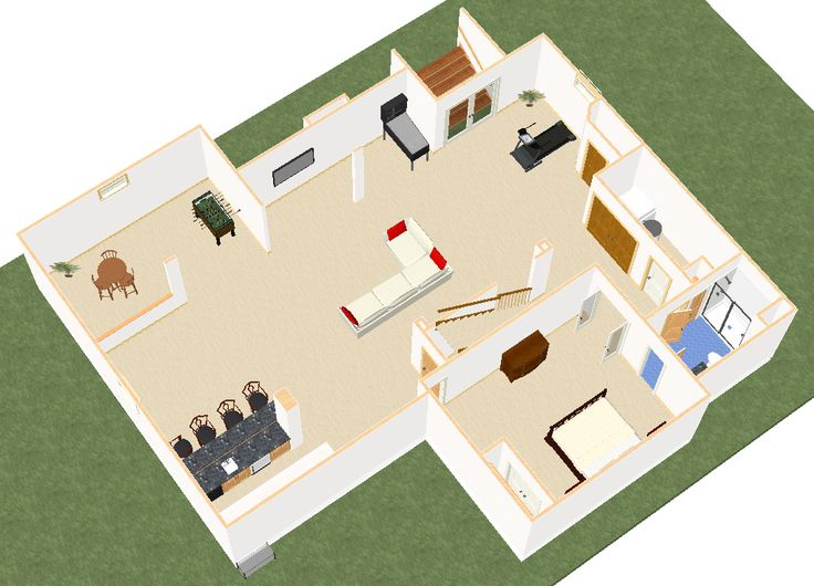 22 best basement finishing university images on pinterest for Basement design software