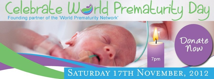 Cover photo in support of World Prematurity Day 2012.