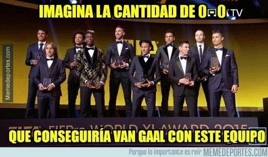 Los mejores memes de la gala del Balón de Oro 2015