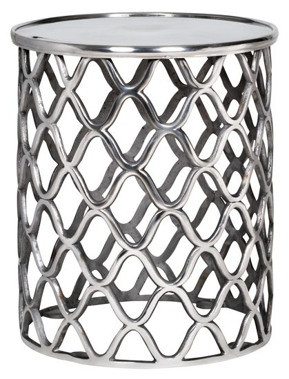 The Lattice Side Table. Compact and super cute!