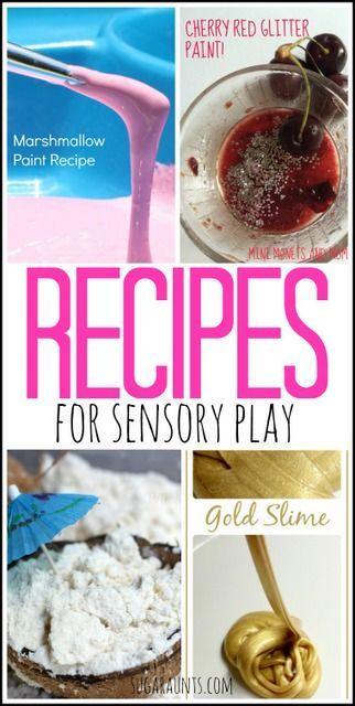 Recipes for Sensory Play