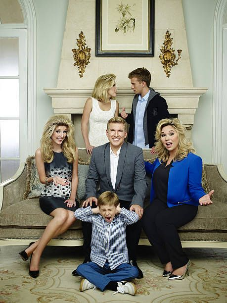 2 Pictured Lindsie Chrisley Campbell Savannah Chrisley Todd Chrisley Grayson Chrisley Chase Chrisley Julie Chrisley