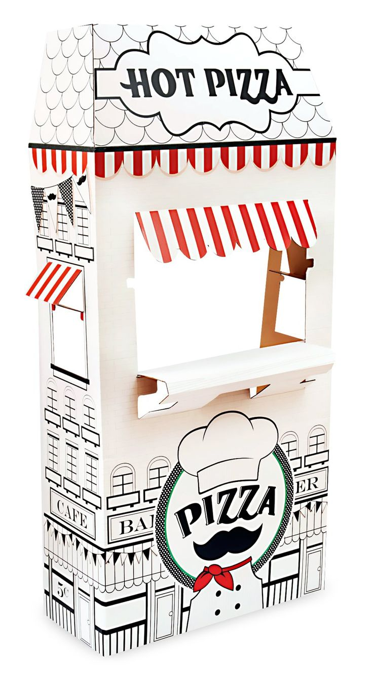 Itzza Pizza Party - Cardboard Standup from BirthdayExpress.com