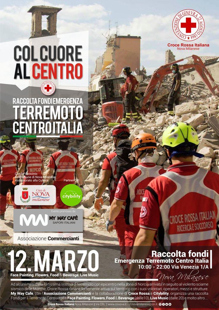 Raccolta fondi terremoto centro Italia - 12 Marzo 2017