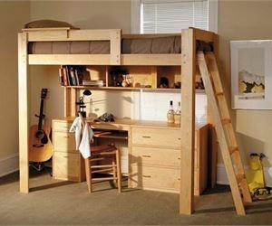 1000 ideas about lit superpos avec bureau on pinterest lit superpos bure - Lit superpose avec bureau ...