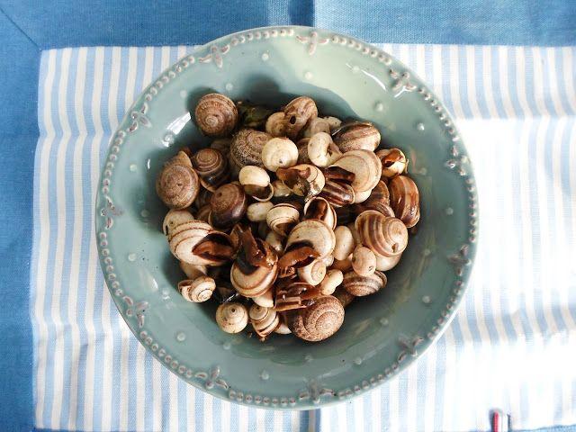 Na cozinha com a Filipa: Caracóis à Portuguesa