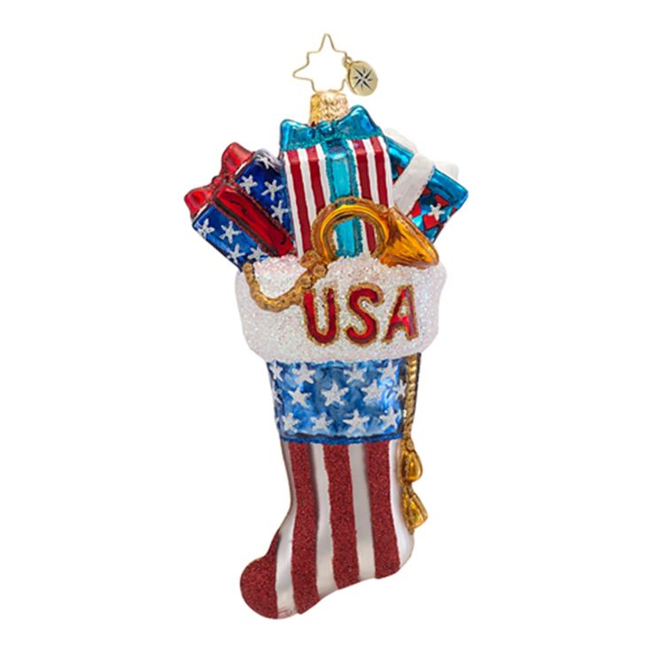 Best christopher radko patriotic usa ornaments images