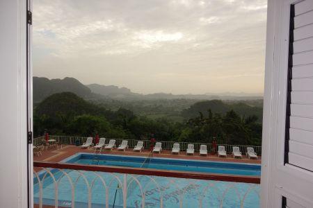 Good morning Vinales, from Los Jasmines Hotel  upintheairblog.com