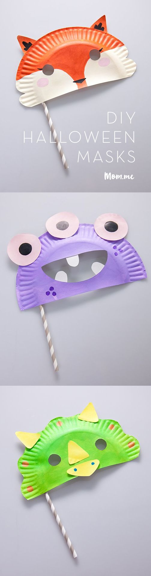 This Halloween, make things frightfully easy with our DIY kid-friendly masks.