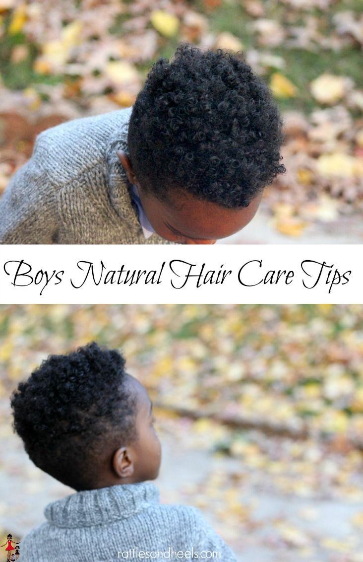 Boys Natural Hair Care Tips #justformejustforschool #ad