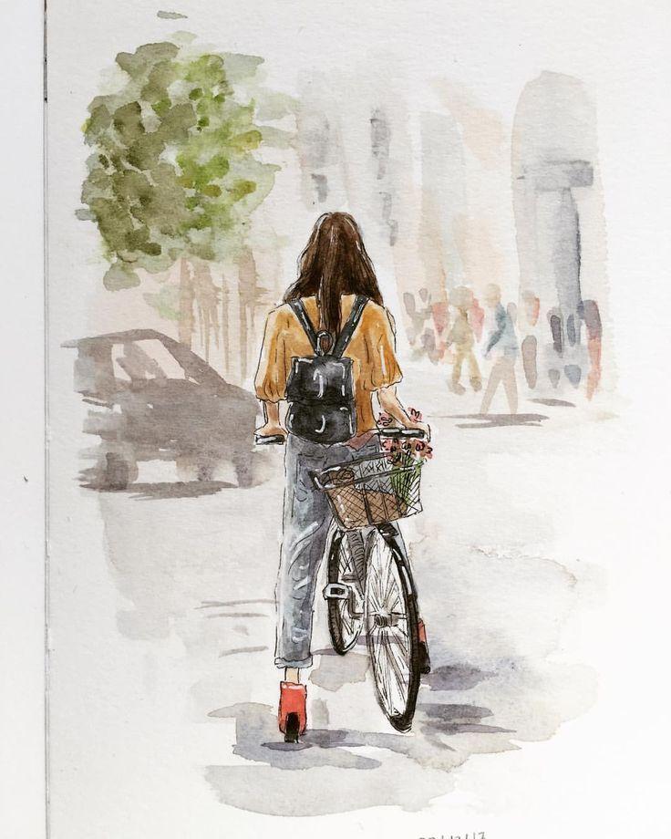 Ich liebe das Fahrrad so sehr