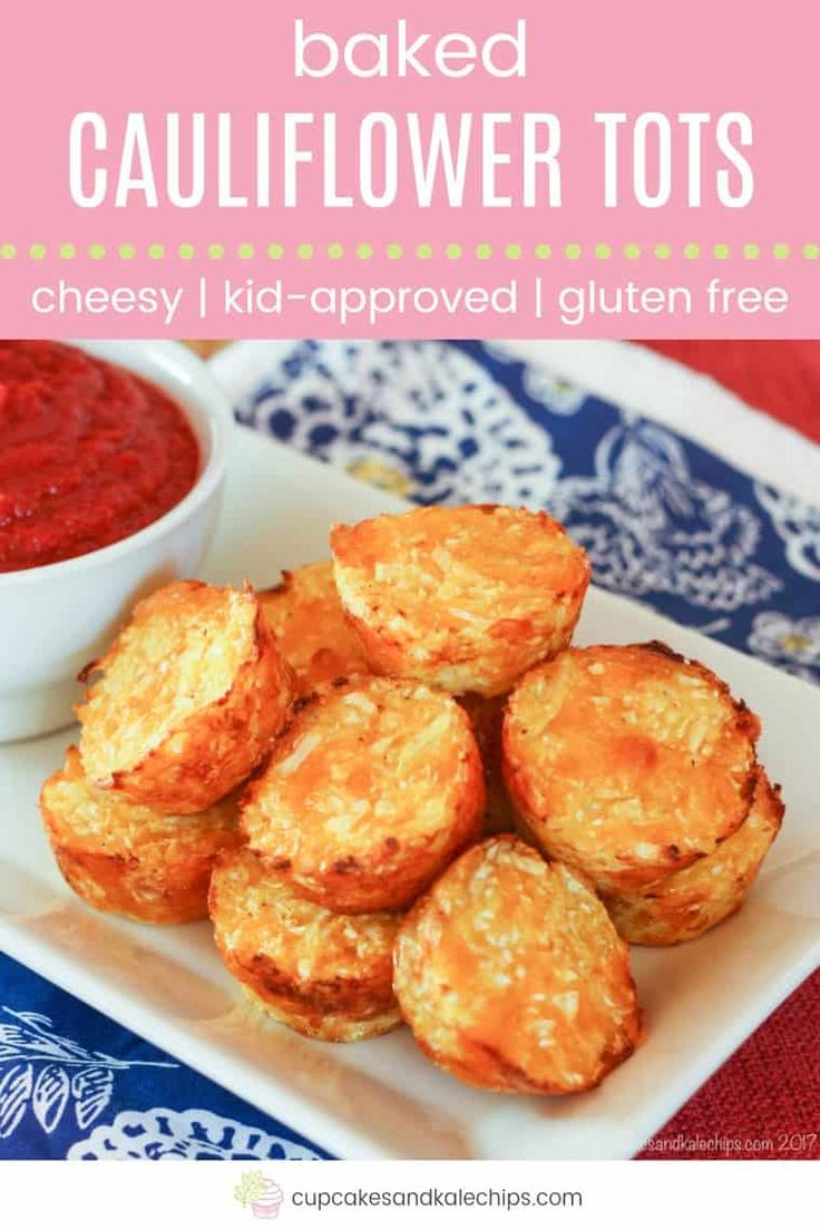Baked Cauliflower Tots – easy, cheesy cauli tots are the healthy, veggie version…  – Bariatric diet