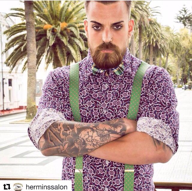 Beards, Fashion and a awesome Barbershop from Spain #Repost @herminssalon with @repostapp ・・・ Un adelanto de nuestra primera revista con nuestra colection one !#barberiasconencanto #barbudos #razors #hairstyle #stylmen #glamour #beards #cuts#bigote #hairdresser #shaving #sweynforkbeard #galiciacalidade