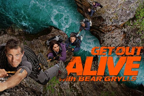 Get Out Alive with Bear Grylls is an American reality competition series hosted by adventurer and survivalist Bear Grylls. The eight-episode series premiered on NBC on July 8, 2013.