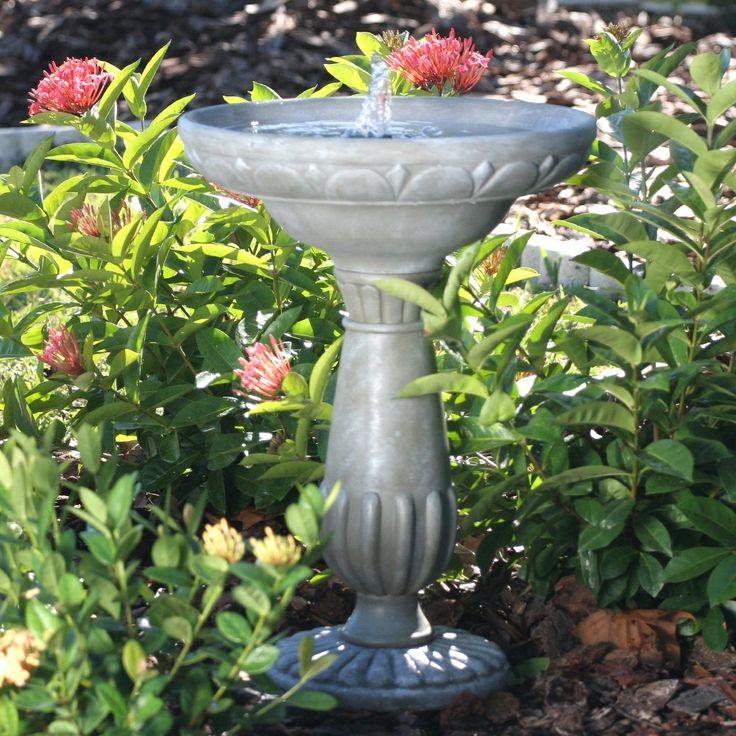 Smart Solar Portsmouth Solar Bird Bath Fountain $99.98