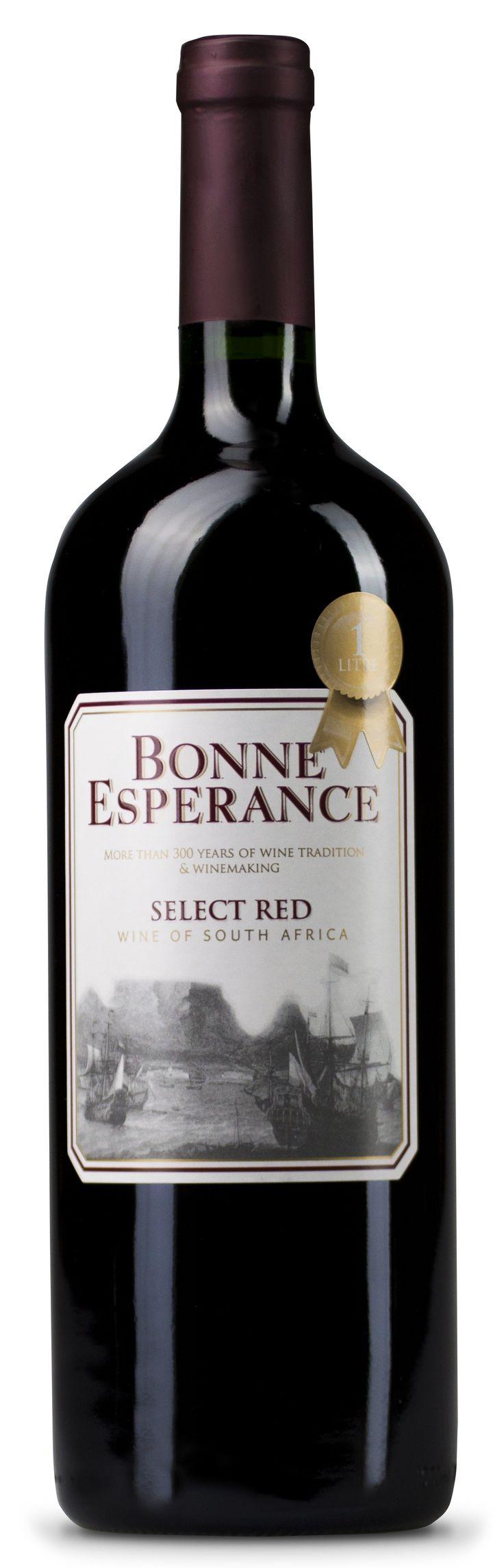 Bonne Esperance Dry Red - Western Cape