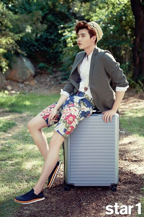 Lee Jong Suk Star1 Magazine July 2015 Photoshoot