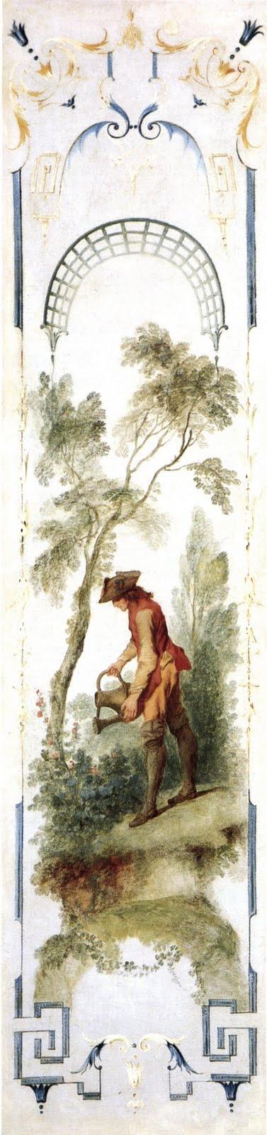 Nicolas Lancret : panneau décoratif