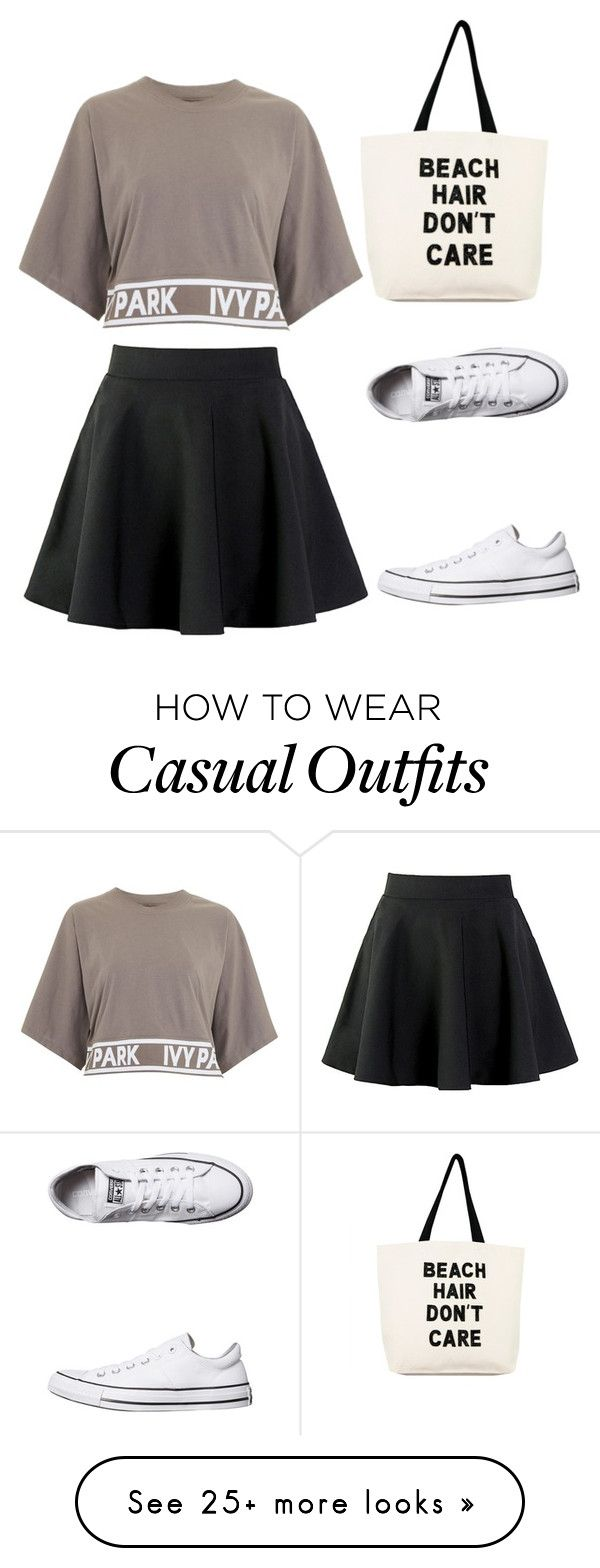 """""""Casual"""" by symfb on Polyvore featuring Topshop, Converse and Soma"""