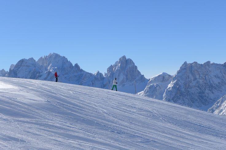 Monte Elmo Dolomites skiing