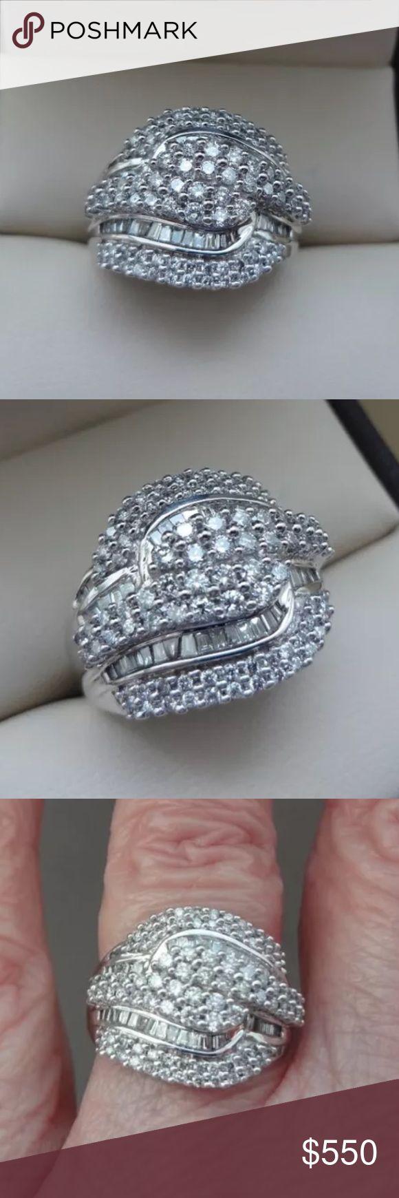 Amazing 1.20 carat 14k white gold diamond ring Amazing 1.20 carat 14k white gold diamond ring Jewelry Rings