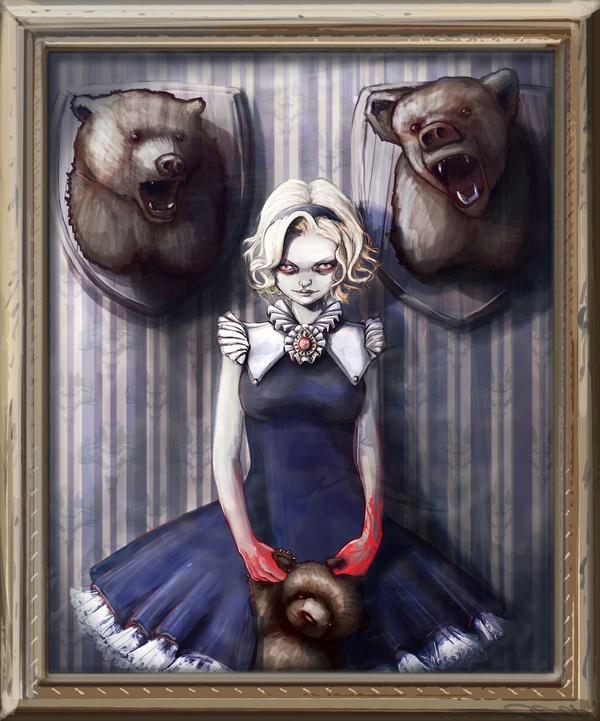 Goldilocks and the three bears porn
