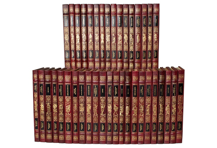 One Kings Lane - The Sophisticated Study - Complete Works of Shakespeare, 39 Vols