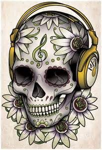 sugar skull tattoo drawings - Bing Images