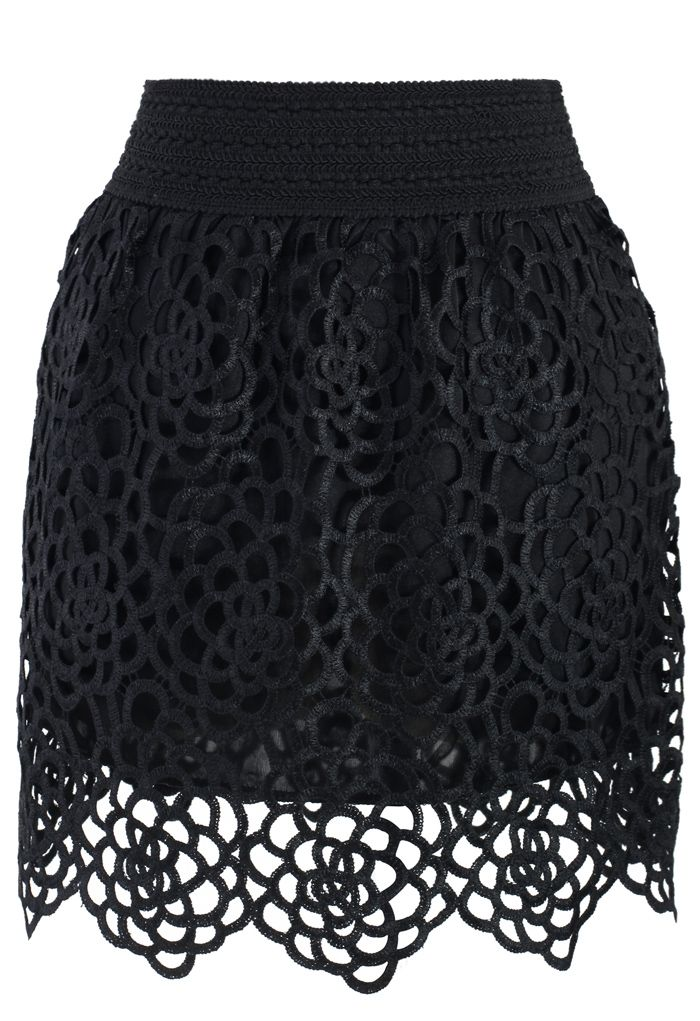 For Nice For Sale Cupro Skirt - Multicolor Crochet by VIDA VIDA Affordable For Sale Fast Delivery Sale Online Discount Amazing Price 8jj60AeY