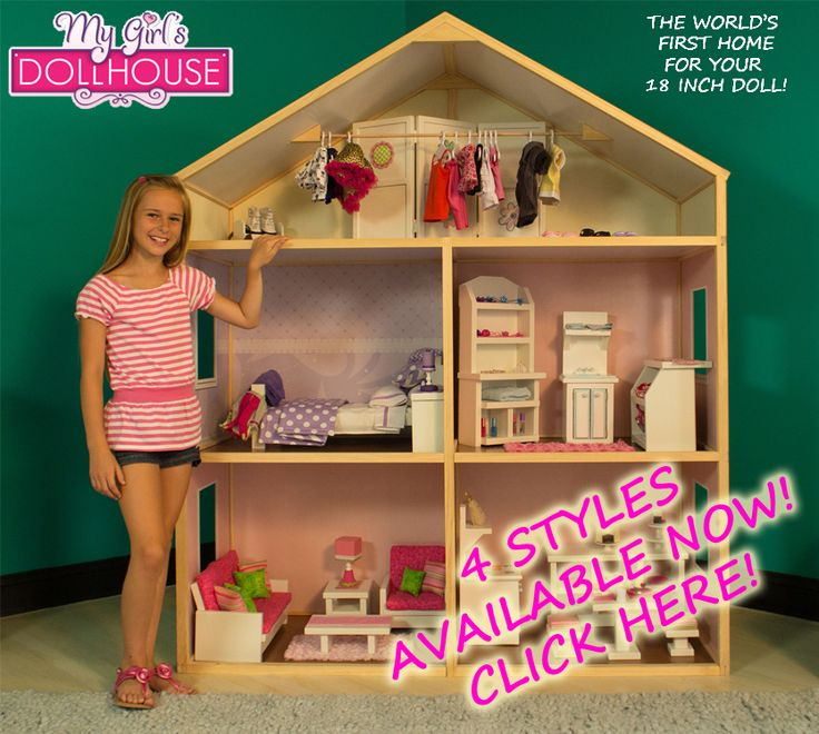 10 best My Girl\'s Doll House images on Pinterest | American girls ...