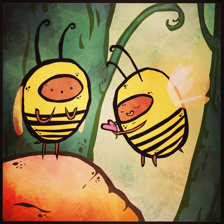 Bee with me :3
