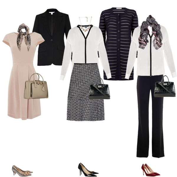 Creating an executive business wear capsule wardrobe