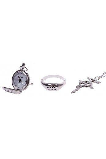 Setje Alchimist Horloge Ketting Ring http://www.ovstore.nl/nl/huismerk-setje-alchimist-horloge-ketting-ring.html