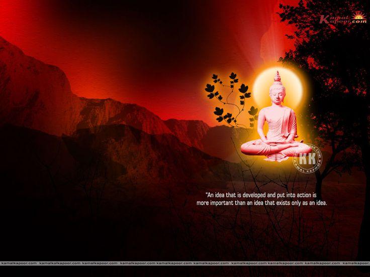 Buddha Wallpaper | Buddhist Quote Wallpaper
